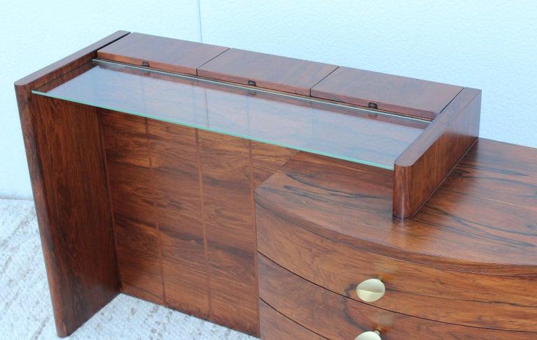 Gilbert Rohde Rosewood Vanity For Sale 1