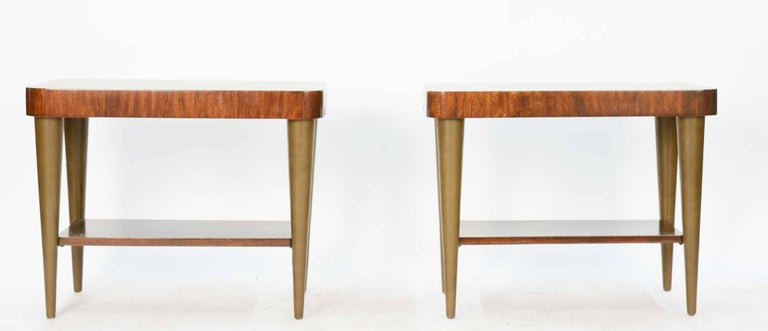 Mid-Century Modern Gilbert Rohde's Side Tables for Paldao Line for Herman Miller, 1940 For Sale