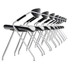 Gilbert Steiner Rugby Ellipse Chairs, France, 1962