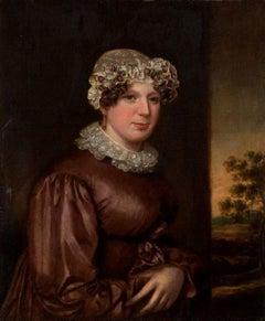 """Portrait of Dolley Madison,"" Gilbert Stuart, Second Lady American Portraiture"