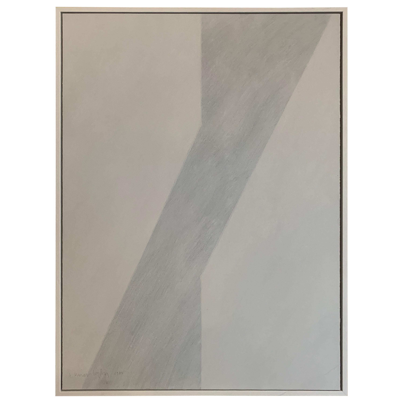 Gilbert Swimberghe Oil on Canvas 'Grey'