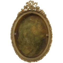 Gilded Brass Photo Frame, Late 19th Century