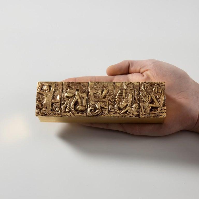 Gilded Bronze Box
