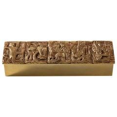 "Gilded Bronze Box ""Neptune"""