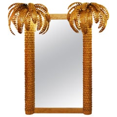 Gilded Double Palmer Mirror