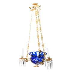 Gilded Empire Style Chandelier