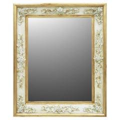 Gilded Flowers Mirror