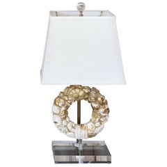 Gilded Fragment Table Lamp