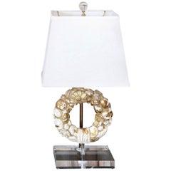 Gilded Fragment Table Lamp