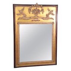 Gilded French Louis XV Wall Mirror