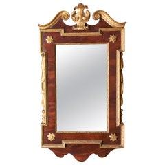Gilded Mahogany Constitutional Mirror
