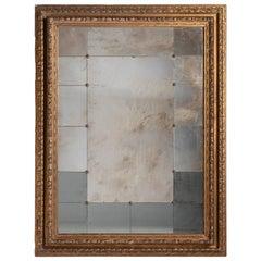 Gilded Panelled Mirror, Italy, circa 1870