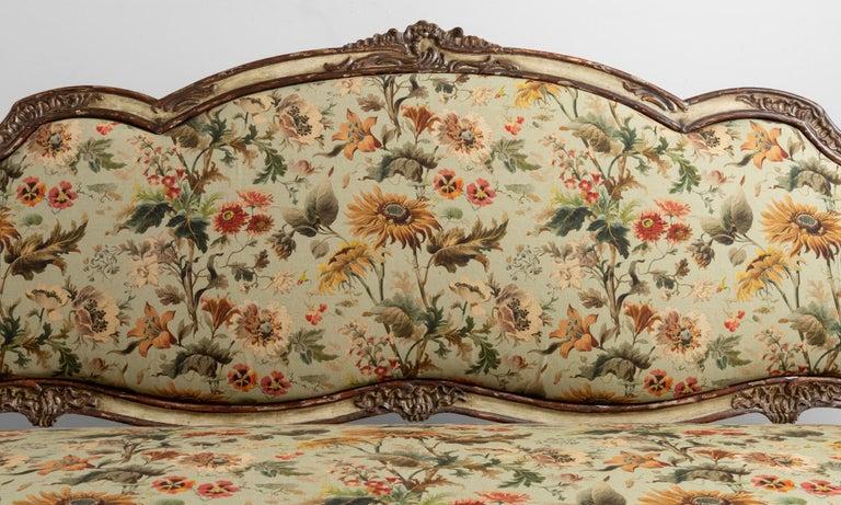 Italian Gilded Sofa in House of Hackney Fabric