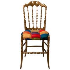 Gilded Wood Famous Chiavari Chair