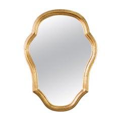 Gilded Wood Mirror Vienna, circa 1960s