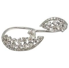 Gilin Diamond Two-Finger Fashion Ring
