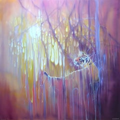 Tiger Soul, Painting, Oil on Canvas