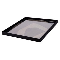 Gilles Caffier Large Multi-Color Geometric Patch Tray