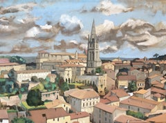 View of Saint Emilion, France
