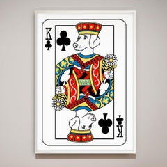 Illustration Print - Pop Art - Gillie and Marc - Limited Edition - King - Dog