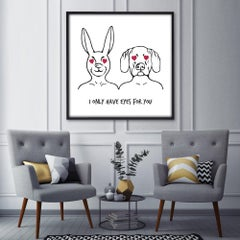 Print - Gillie and Marc - Art - Limited Edition - Love - Equality - Eyes for You
