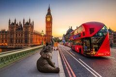 Print - Gillie and Marc - Art - Limited Edition - Wildlife - Elephant - London