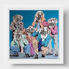 Print - Limited Edition - Animal Art - Gillie and Marc - Paparazzi Dogs