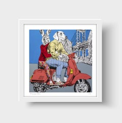 Print - Limited Edition - Animal Art - Gillie and Marc - Travel - New