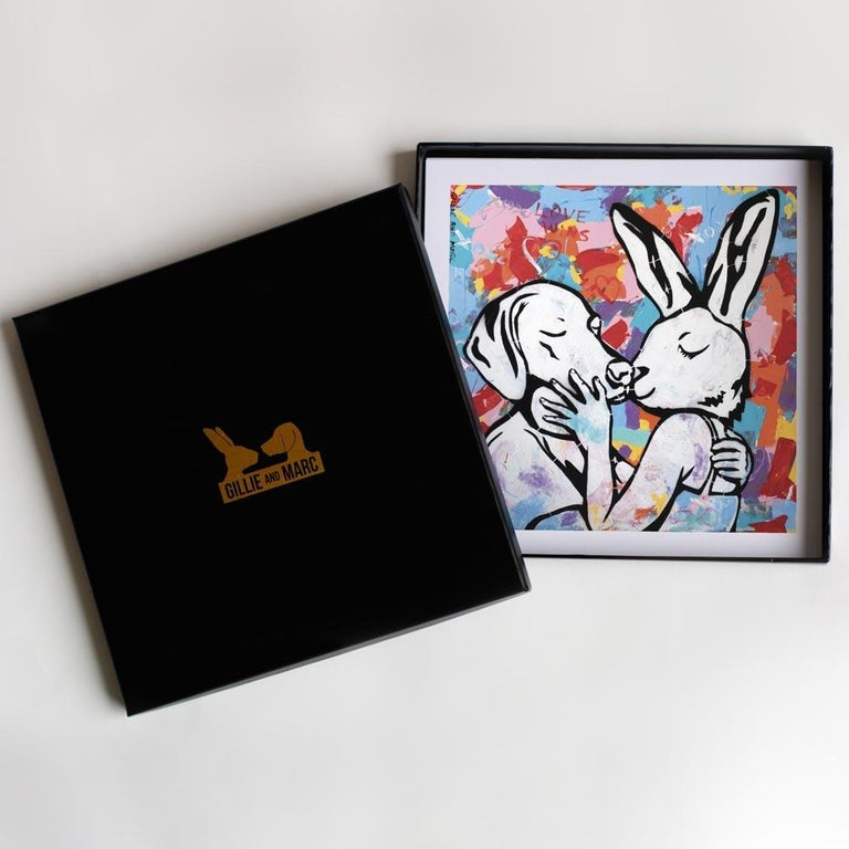 Print Set - Gillie and Marc - Art - Limited Edition - Love - Gift Box Collection - Painting by Gillie and Marc Schattner