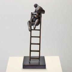 Bronze Sculpture - Art - Limited Edition -Wildlife - Animal - Koala - Ladder