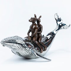 Bronze Sculpture - Limited Edition - Love - Rabbit - Dog - Whale - Forever - Art