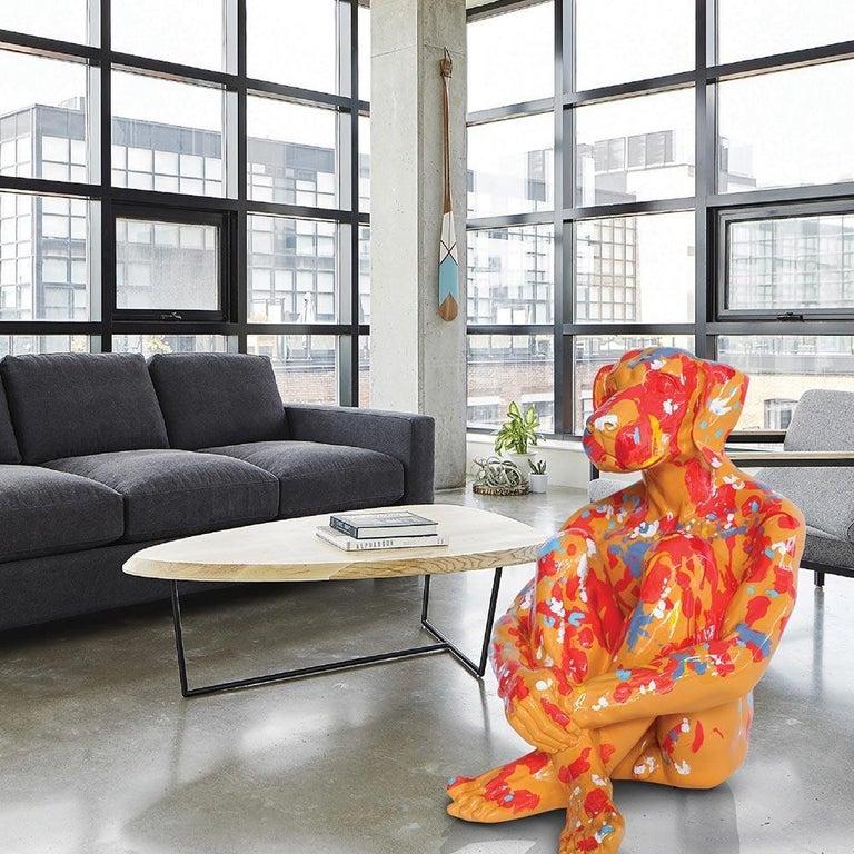 Pop Art - Sculpture - Art - Fibreglass - Gillie and Marc - Dogman - Splash Pop 1