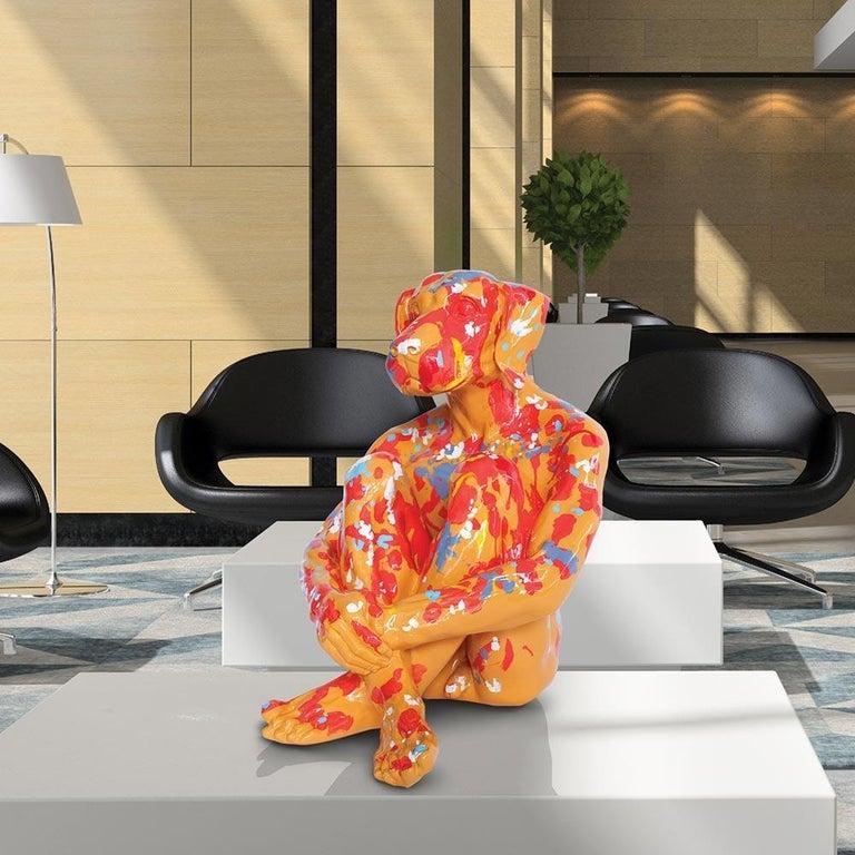 Pop Art - Sculpture - Art - Fibreglass - Gillie and Marc - Dogman - Splash Pop 3