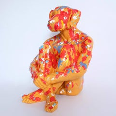 Pop Art - Sculpture - Art - Fibreglass - Gillie and Marc - Dogman - Splash Pop