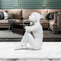 Pop Art - Sculpture - Art - Resin - Gillie and Marc - Cool - City - Pup - White