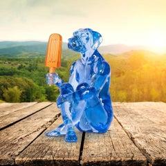 Pop Art - Sculpture - Art - Resin - Gillie and Marc - Dogman - Ice Cream - Love
