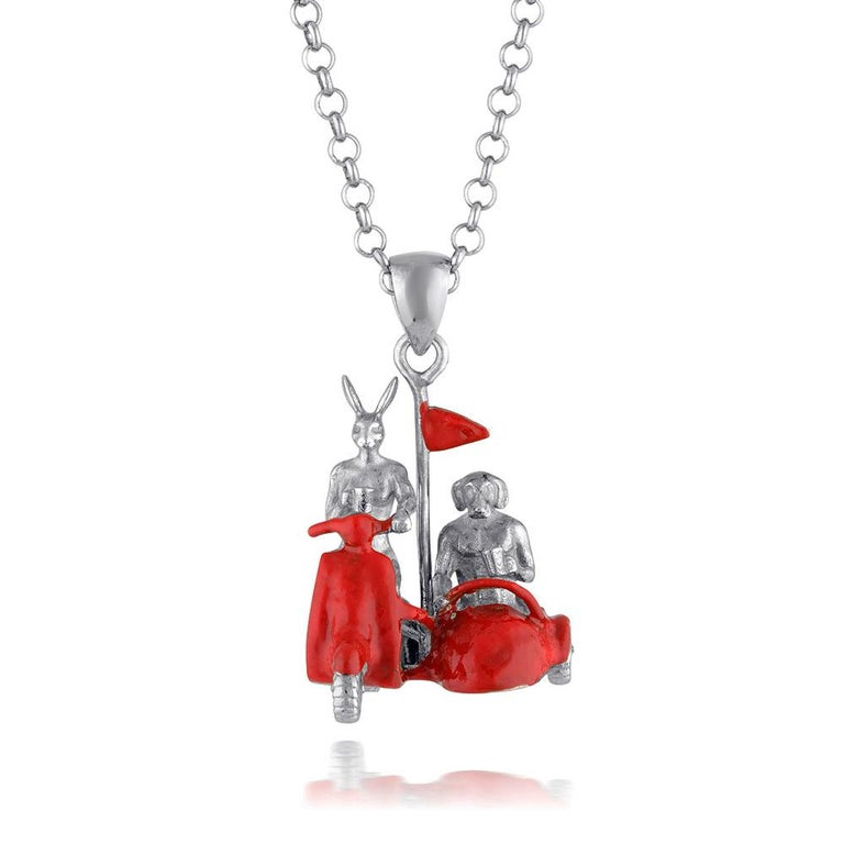 Pop Art - Sculpture - Jewellery - Gillie and Marc - Love - Side Car - Silver Set For Sale 6
