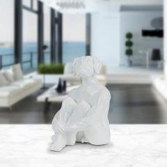 Resin Sculpture - Pop Art - Gillie and Marc - Ltd Edition - Mini - Dog - White