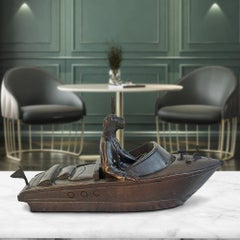 Sculpture - Art - Bronze - Gillie and Marc - Mini - Boating - Rabbit - Dog -Love