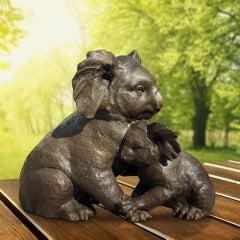 Sculpture - Art - Bronze - Gillie and Marc - Mini - Koala - Animal - Love