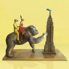 Sculpture - Art - Bronze - Gillie and Marc - Mini - Story - Gorilla - New York