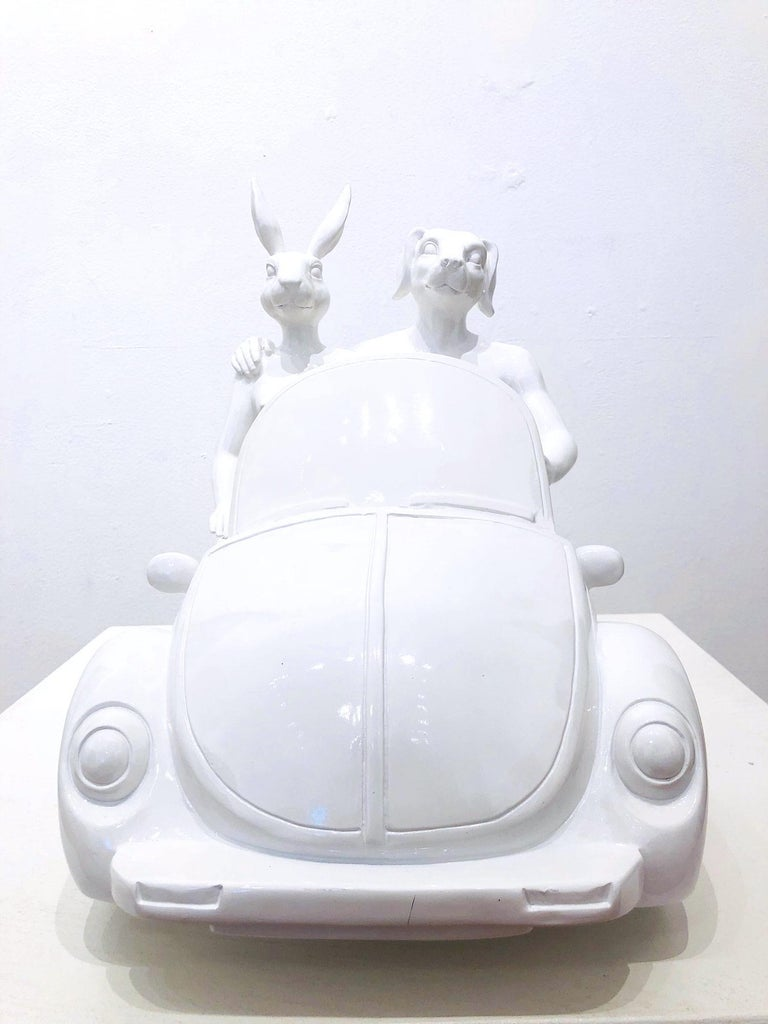 They Loved Driving Their Beetle Convertible Around the Sunny Shores of France For Sale 6