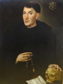 Portrait Of An Augustinian Monk, 16th Century