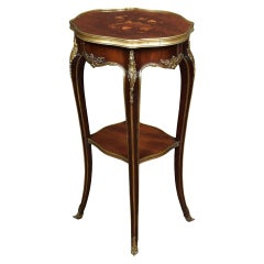 Gillows Gilt Bronze-Mounted Inlaid Table