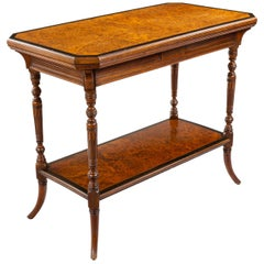 Gillows Late 19th Century Aesthetic Movement Table