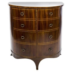 Gillows Regency Demilune Commode Converted to a Cellarette
