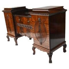 Gillows Sideboard Server Mahogany 1880 Buffet