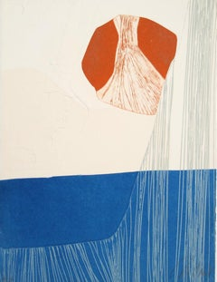Abstract Etching by Gilou Brillant