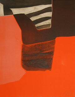 Abstract Etching by Gilou Brilliant