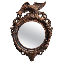 Admiral Eagle Federal Round Bull's-Eye Wall Mirror